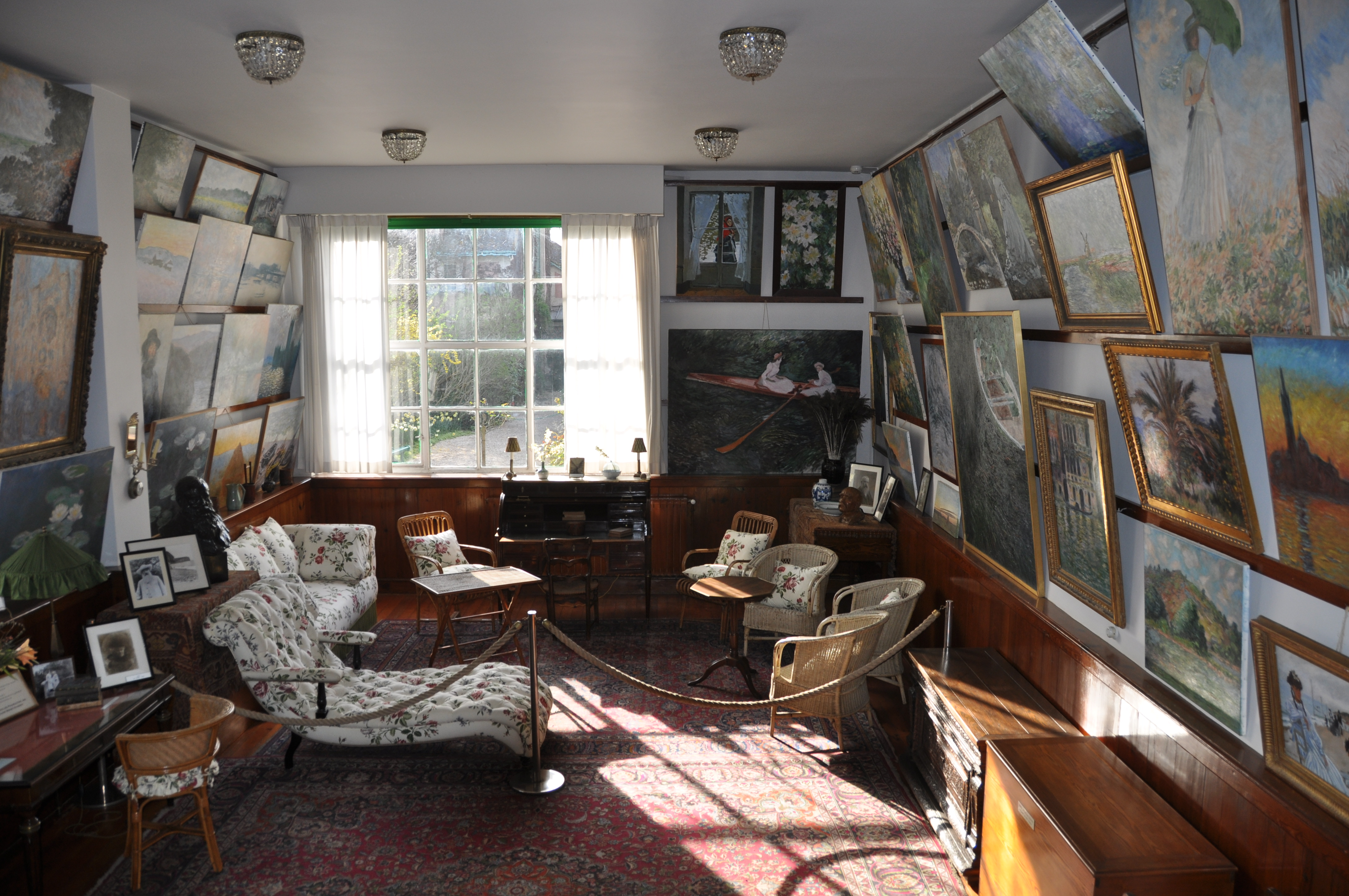 El taller de Monet
