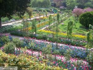 El Jardin de Flores de Claude Monet en Giverny