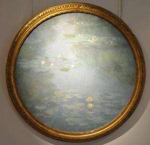 Monet nenufares tondo museo de Vernon