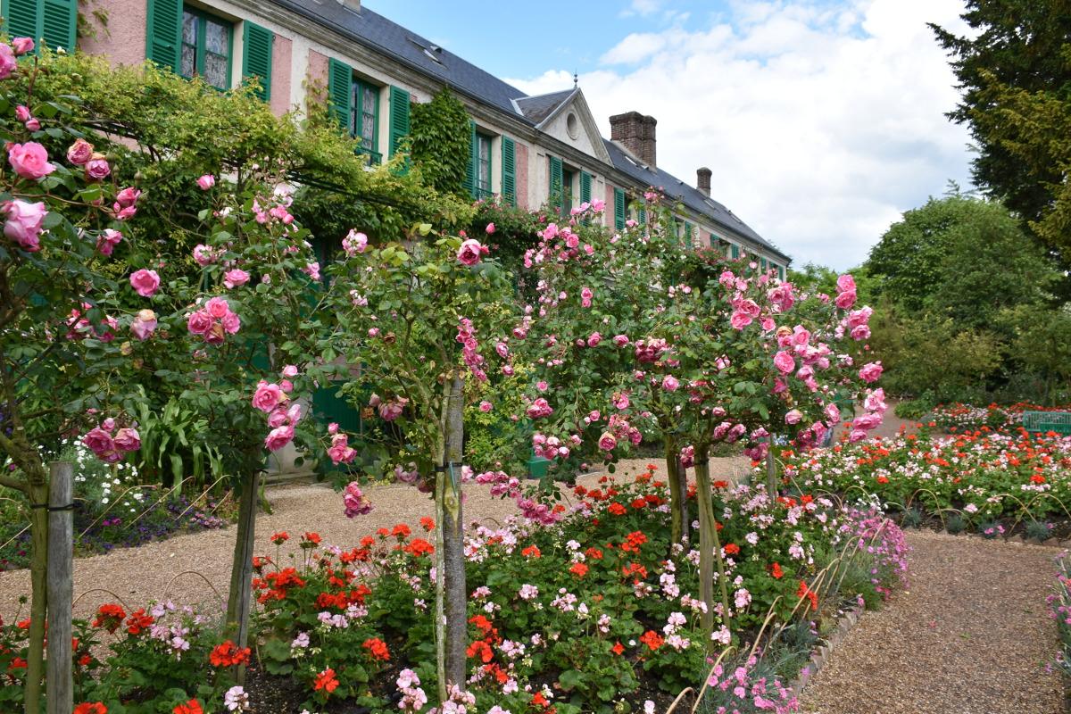 Las rosas de Giverny – Giverny