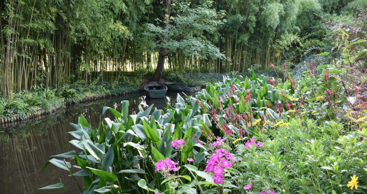 Giverny barcos y bambus