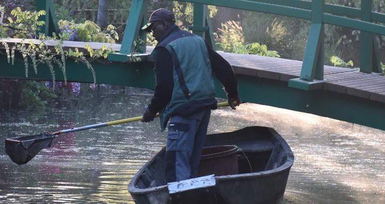 Jardinero de Giverny